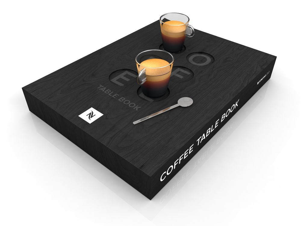 page causebecause sample table coffee book